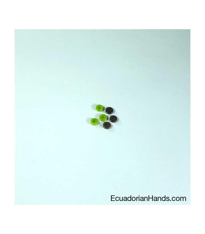 Lentil 5mm Tagua Seed Beads (200 units) PREMIUM