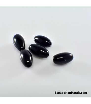 Rice Tagua Bugle Bead (30 units)