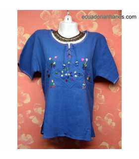 Blouse Hand Embroidered 100% Cotton