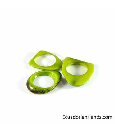 Ojalillo Collar Abalorios Tagua (45 unidades)