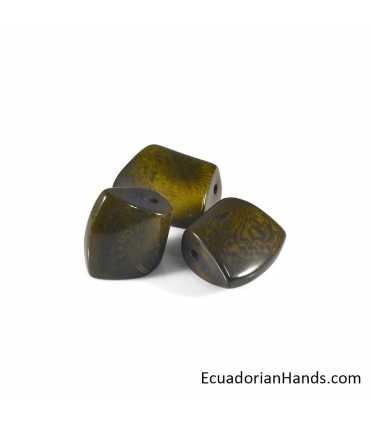 Hacha 28-33 Abalorios Tagua (5 unidades)