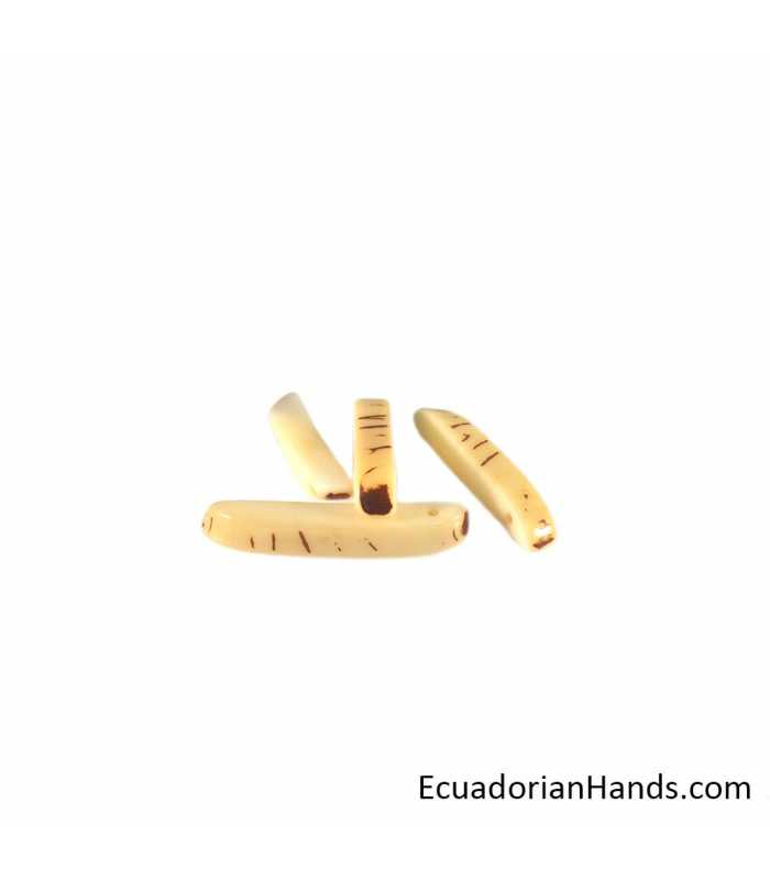 Splinter Tagua Bead (35 units)