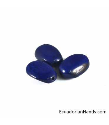 Polished Stone Tagua Bead (8 unit)