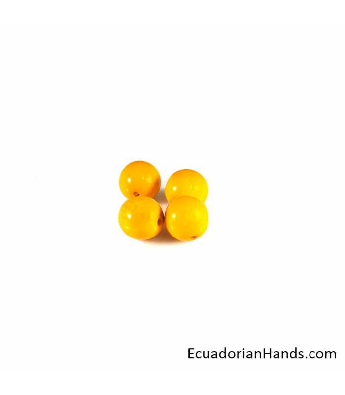 Pearls 15mm Tagua Bead (10 units)