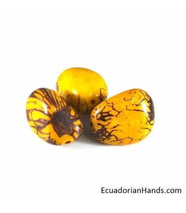 Tagua Bead Nut (10 unit)