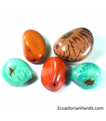Tagua Nut bead (1 unit)