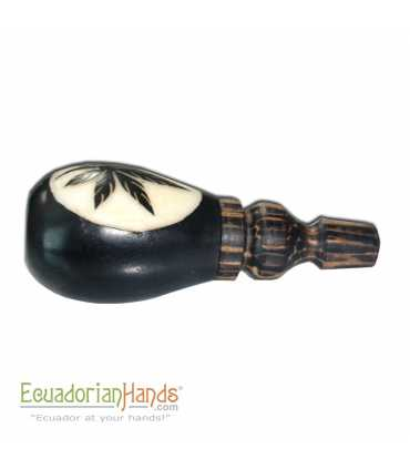 125 Handmade Smoking Pipes eco ivory tagua, Turbine model