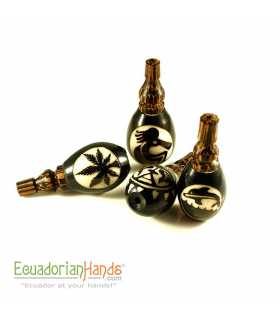 25 Handmade Smoking Pipes eco ivory tagua, Turbine model
