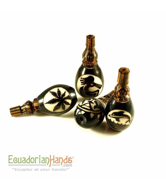 25 Handmade Smoking Pipes eco ivory tagua, Turbine model