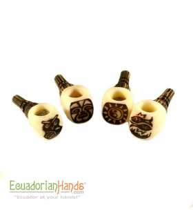 125 Handmade Smoking Pipes eco ivory tagua, Popeye model