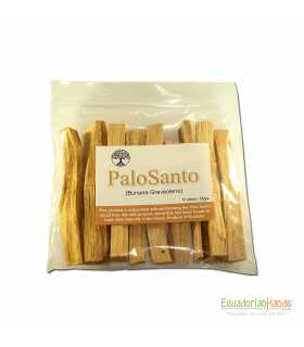 11 incense sticks palosanto, ziploc 15x15cm, w/label