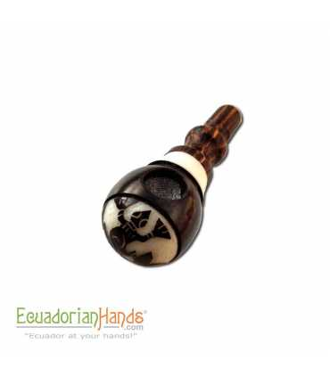 25 Handmade Smoking Pipes eco ivory tagua, Barril model