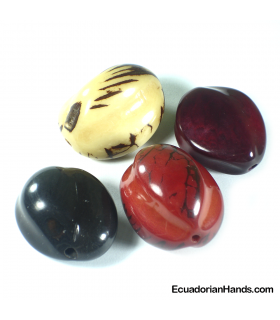 Chinese Fruit Tagua Bead (8 units)