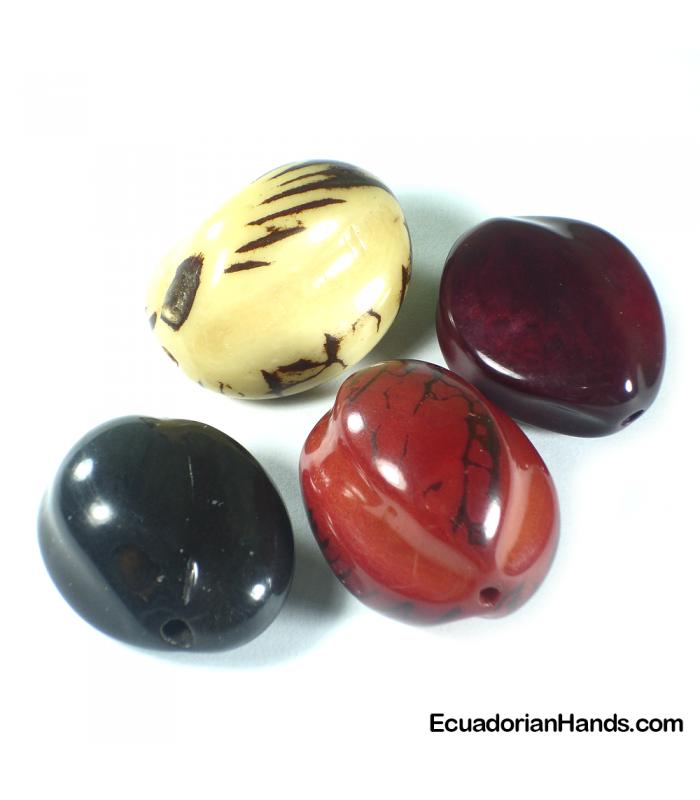 Chinese Fruit Tagua Bead (8 units)