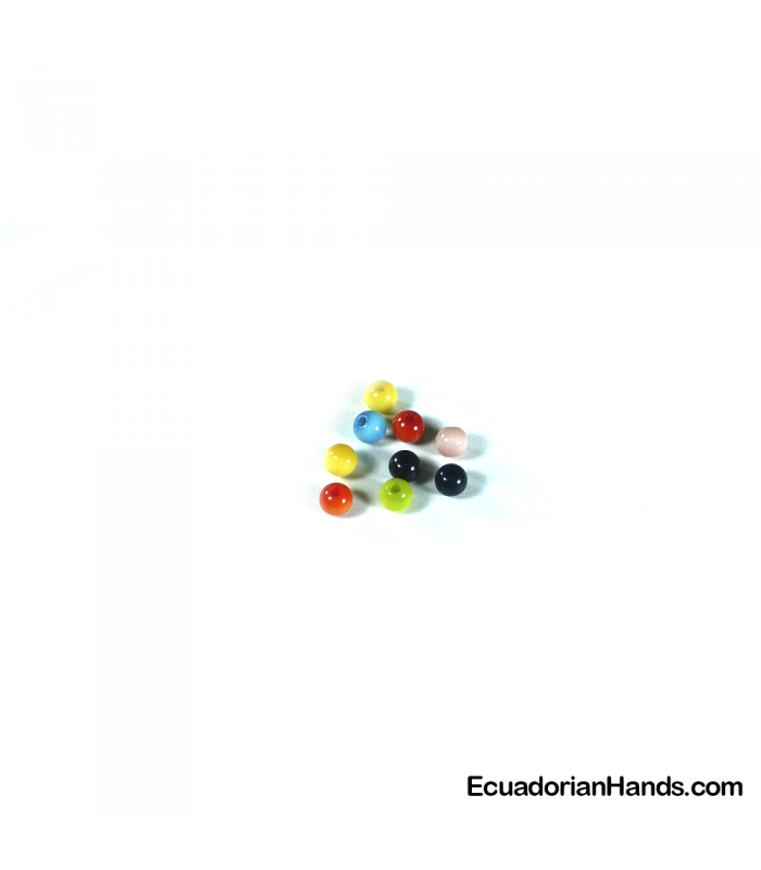 Pearls 5mm Tagua Bead (200 units)