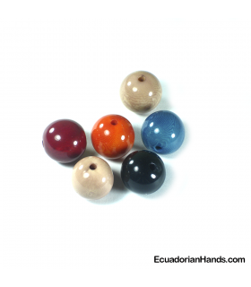 Pearls 20mm Tagua Bead (10 units)