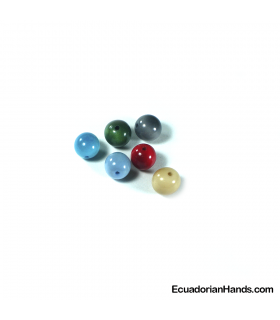 Pearls 12mm Tagua Bead (1 unit)