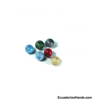 Pearls 12mm Tagua Bead (14 units)