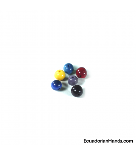 Pearl 9mm Tagua Bead (1 unit)