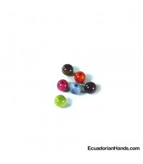 Pearls 10mm Tagua Bead (30 units)