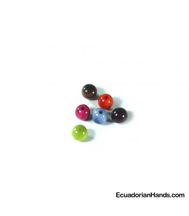 Pearls 10mm Tagua Bead (30 units)