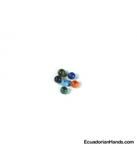 Pearls 6mm Tagua Bead (100 units)