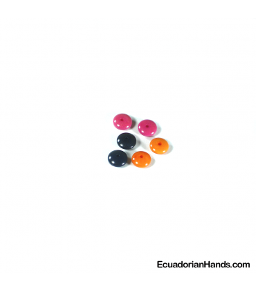 Lentil 9mm Tagua Bead (1 unit)