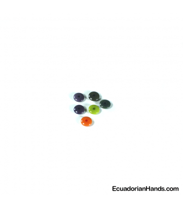 Lentil 7mm Tagua Bead (1 unit)