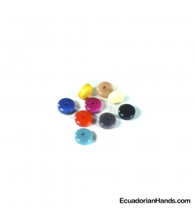 Cylinder A 10mm Tagua beads (1 unit)