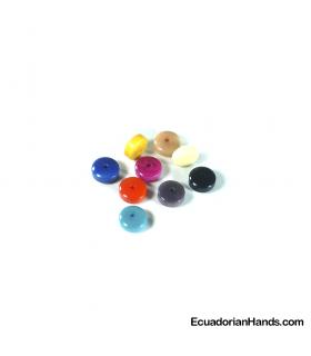 Cylinder A 10mm Tagua beads (1 unit)