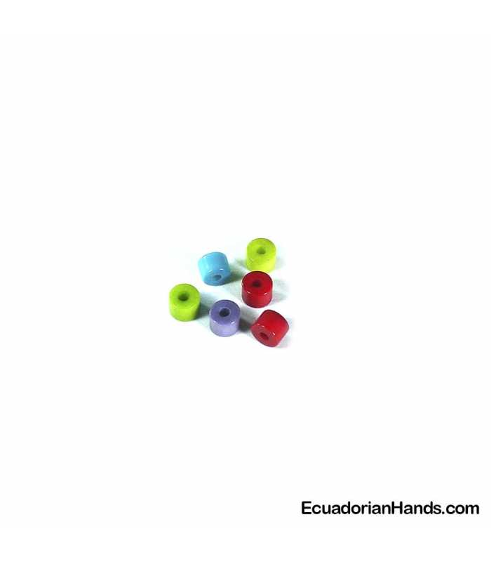 Cylinder A 5mm Tagua Seed Beads (200 units)