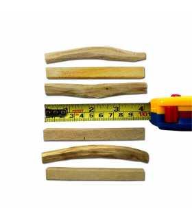 10 tablitas palosanto, ziploc 15x15cm, sin etiqueta