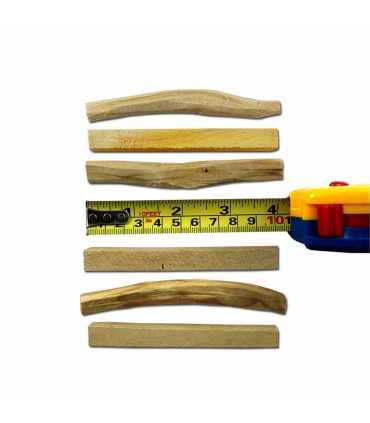 5 tablitas palosanto, ziploc 9x13cm, sin etiqueta