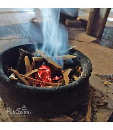 5 incense sticks palosanto, ziploc 9x13cm, w/label