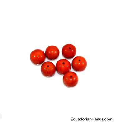Pearls 20mm Tagua Bead (10 units)