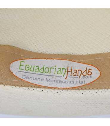 Fedora Clásico Sombrero de Panamá Montecristi (Unisex)