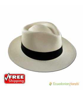 Fedora Sombrero de Panamá Montecristi