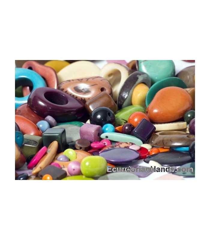 Tagua Beads Sample-Pack PREMIUM