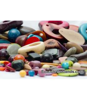 Tagua Beads Sample-Pack PREMIUM