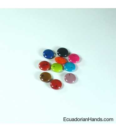 Lentil E 11mm Tagua Bead (1 unit)