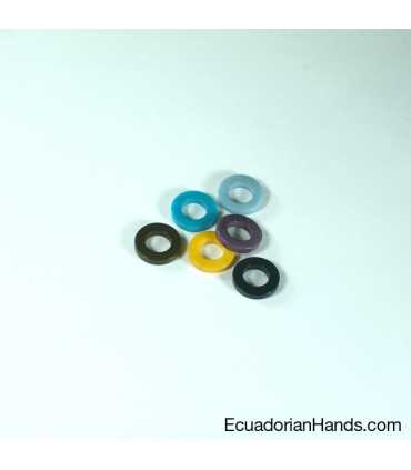 Round Necklace Piece Circle Tagua Bead (200 units)