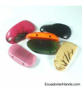 Slice Bracelet 2h Tagua Bead (8 units) ASSORTED