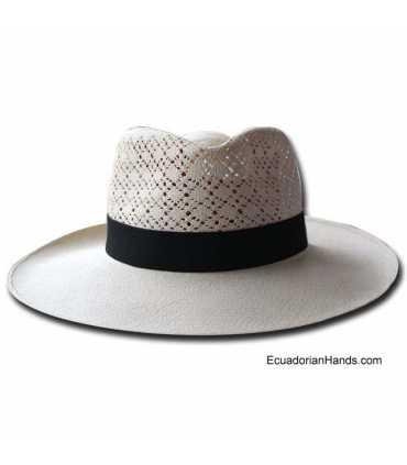 Fedora SemiCalado Montecristi Panama Hat (Grade 38-40)