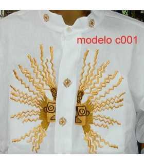 Camisa Presidente Ecuador Rafael Correa 1 Bordada