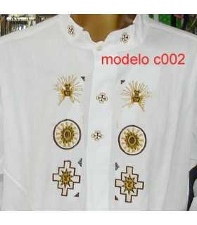 Ecuador President Shirt Rafael Correa Hand Embroidered