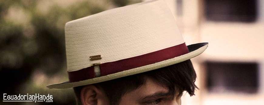 "Characteristics of Panama Hat ""Pork Pie"""