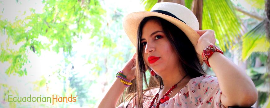 Sombrero de Paja Toquilla Otoño