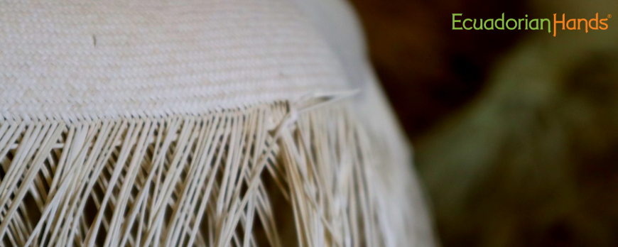 Panama hat weaving