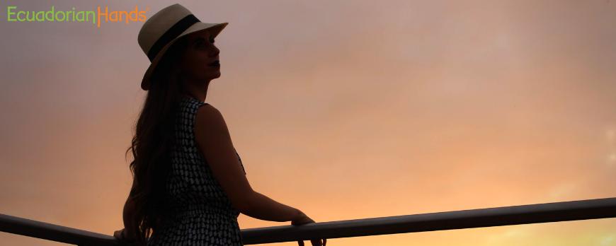 Sombrero de Panama para mujer