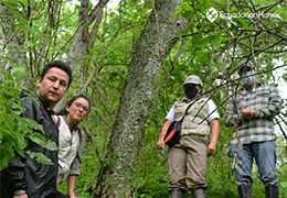 Last inspection by the MAE in the Palo Santo forest to obtain the protective forest declaration